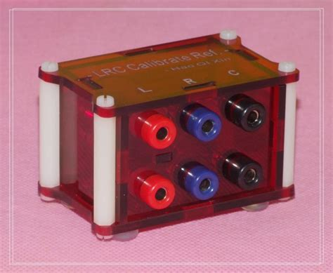 resistor box for calibration inductance resistor capacitor lrc calibrate reference module box high precision