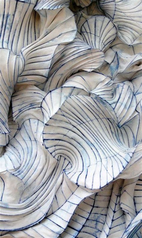 How To Make Paper Sculptures At Home - 25 best ideas about textile design on textile
