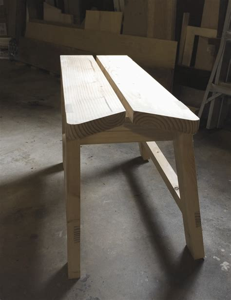 bench cut stackable sawbenches sawyer s bench brim studio