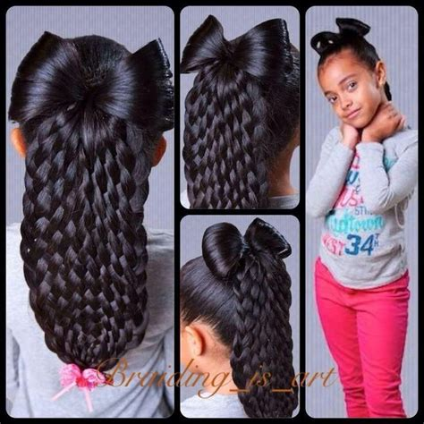Braided Hairstyles With Weave For Teenagers by Hair Design Up No Make Up