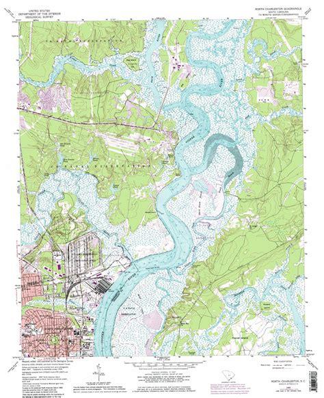 topographical map of carolina charleston topographic map sc usgs topo 32079h8