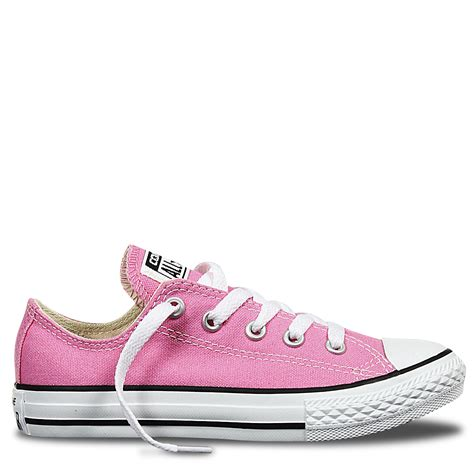 Converse All Pink Low chuck all junior low top pink converse australia