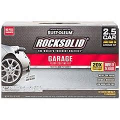 Rust Oleum RockSolid Polycuramine® Garage Floor Coating
