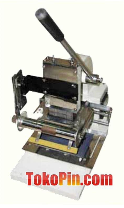 Mesin Laminating High Press With Cutter toko pin menjual mesin pin bahan baku pin tumbler t 200 press tumbler id card box kartu nama