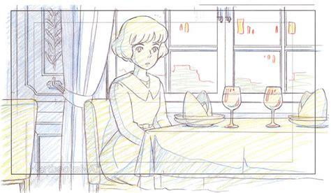 layout design animation artbooksnat studio ghibli animation layouts from the wind