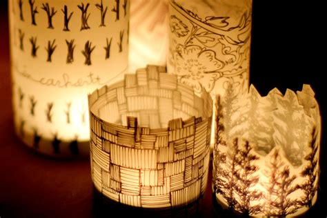 How To Make Lantern Using Paper - diy paper lantern crafted in carhartt