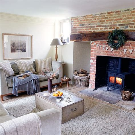 Period Living Room With A Living Room Period Farmhouse In West Sussex House Tour