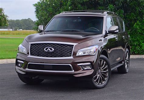 quick review 2017 infiniti 2017 infiniti qx80 awd limited quick spin review test