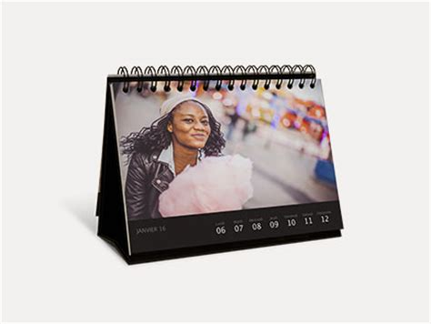 Calendrier Photo Et Agenda Personnalis 233 2018 Photobox Calendrier Photo Bureau