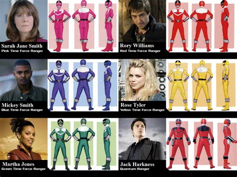 Power Rangers Time Force (Doctor Who) by Powershade117 on