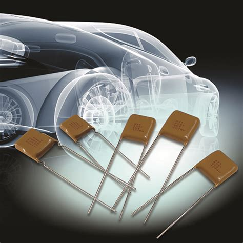 avx high voltage capacitors stacked leaded automotive mlc radials sv style avx