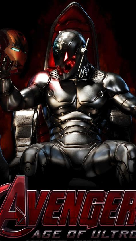 wallpaper iphone ultron the avengers age of ultron poster wallpaper free iphone