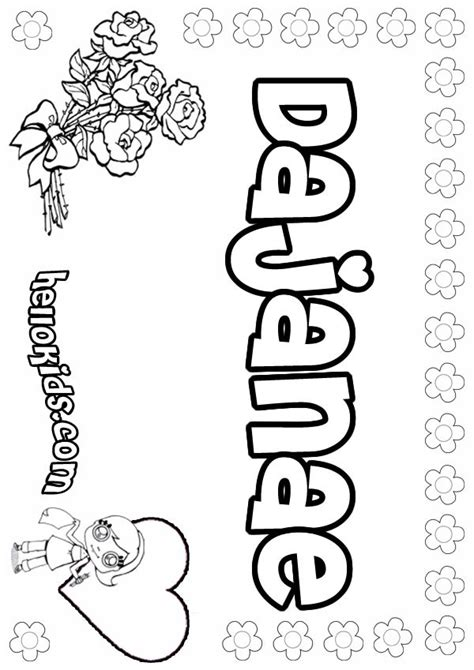 create a coloring page with your name make your name pages coloring pages