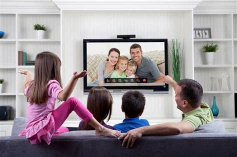 family tv room on inspirationde telyhd uses tegra 2 and android to bring skype video