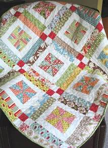 lemonade lollipop baby quilt pattern easy one layer