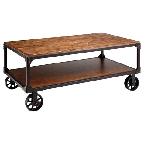 Coffee Tables With Wheels 30 Inspirations Of Wheels Coffee Tables