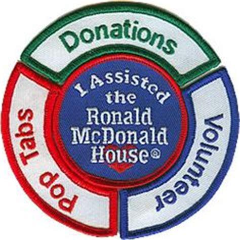 Bordir Patch Emblem Badgr Mcdonald ronald mcdonald house charities of arbor pop tabs rmh pop tab collection for gs