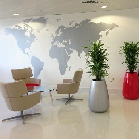 large vinyl wall stickers large world map office vinyl wall sticker vinyl