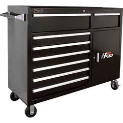 Tool Storage Cabinets Homak H2pro 56in 8 Drawer Roller Tool Cabinet With 2 Compartment Drawers Black 56 1 4in W X
