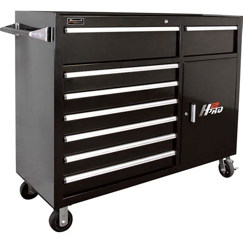 Tools Cabinet homak h2pro 56in 8 drawer roller tool cabinet with 2 compartment drawers black 56 1 4in w x