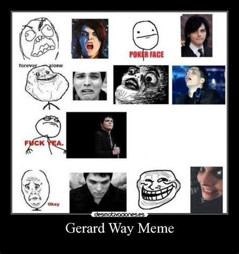 Gerard Way Memes - gerard way meme my chemical romance gerard way