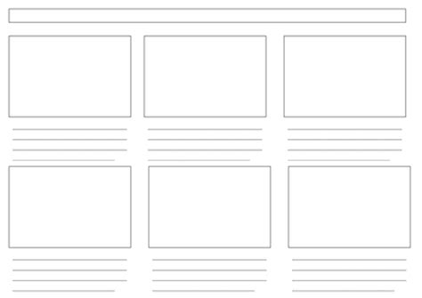 storyboard template 6 boxes storyboard templates 3 levels by lbaggley uk teaching