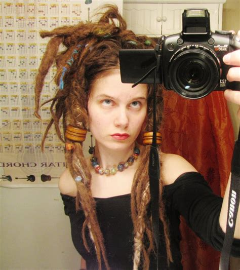 how to bead dreads brown time looking dreadlock by syrenfire on