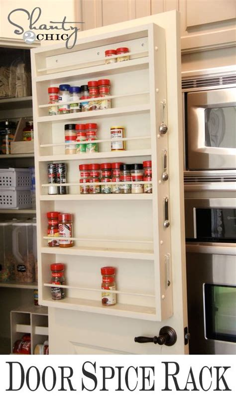 diy back of door spice rack 1000 images about fix my kitchen on small