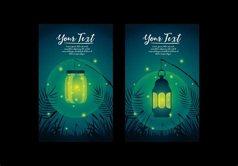 Firefly Story Card Template by Firefly Template Vector Free Vector Stock