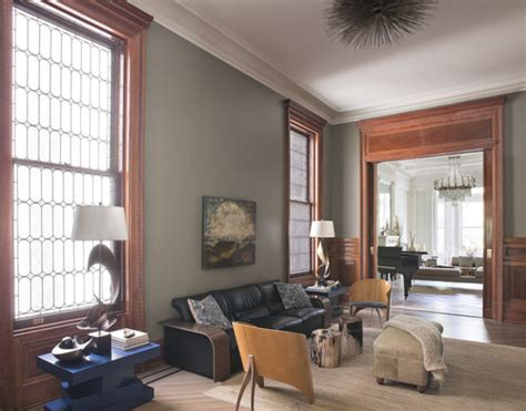 middle eclectic family room new york neuhaus design architecture p c wood