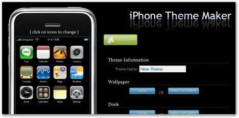 themes maker online free online iphone theme creator megaleecher net