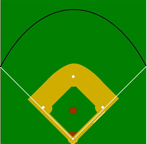 baseball infield diagram blank baseball field cliparts co