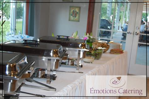 Custom Buffet Set Up Emotions Catering Cornwall Buffet Set Up For Catering