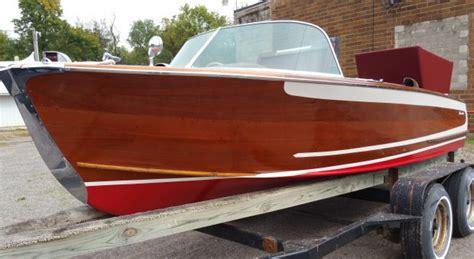1956 higgins wood boat 1950 s classic wooden boats for sale vintage chris