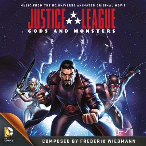 film justice league gods and monsters justice league gods and monsters soundtrack announced