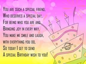 a special birthday wish wishbirthday com