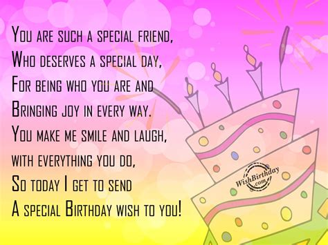a special birthday wish wishbirthday com
