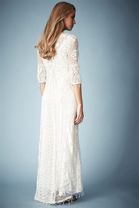 Kate Moss Premieres Dresses For Topshop by Topshop Crochet Lace Maxi Dress By Kate Moss For In
