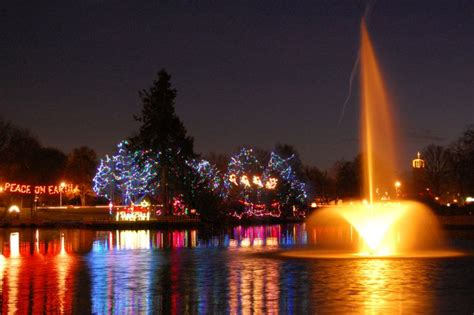 lake sacajawea christmas christmas lights on lions island
