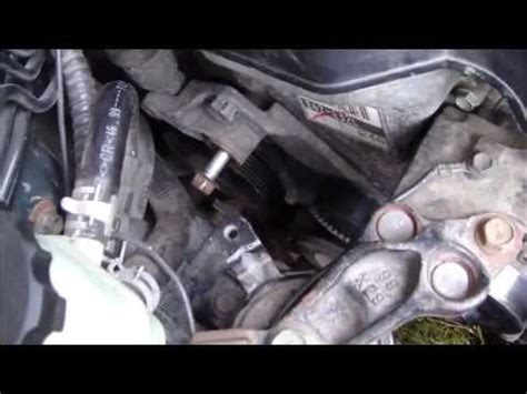how to put a belt on a 2007 maybach 57 how to replace tensioner drive belt or serpentine belt toyota corolla vvt i years 2000 2007
