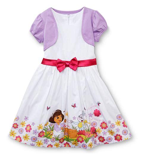 discount deals nickelodeon dora the explorer toddler nickelodeon infant toddler girl s dress shrug set