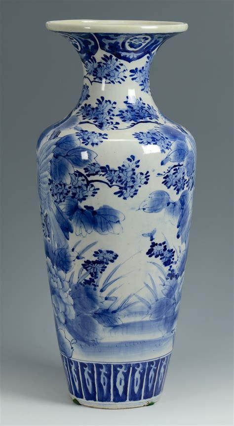 blue and white vase lot 776 japanese arita blue white floor vase