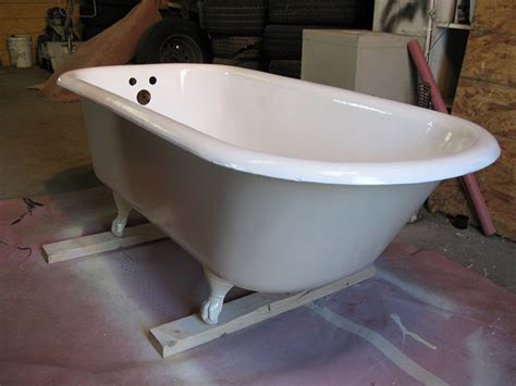 reglazing cast iron bathtub bathtub and tile refinishing gallery ace refinishers