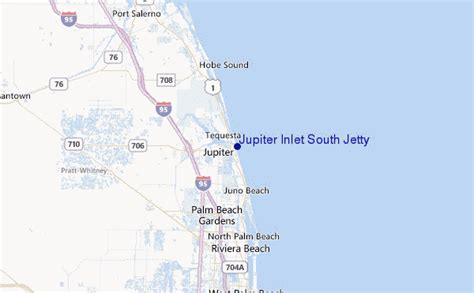 jupiter florida map jupiter inlet south jetty surf forecast and surf reports florida south usa