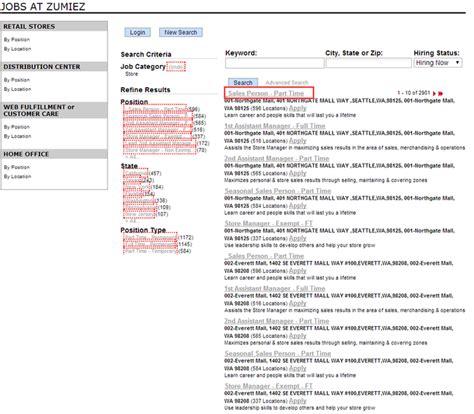 resume exles for zumiez resume ixiplay free resume sles