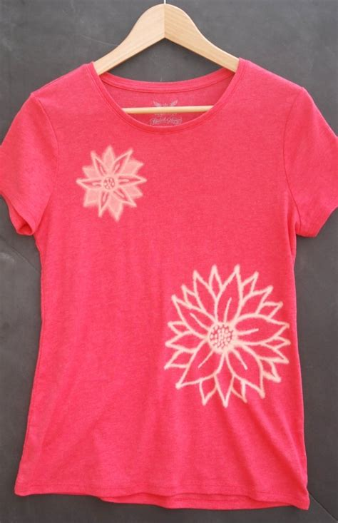 bleach pattern t shirt freezer paper stencil t shirt endlessly inspired