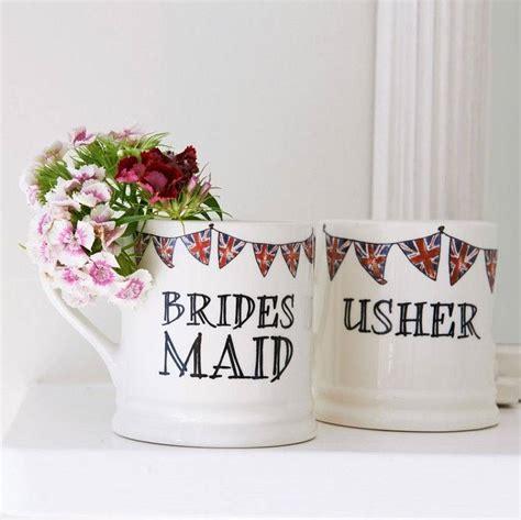 design mug wedding wedding party mug by sweet william designs