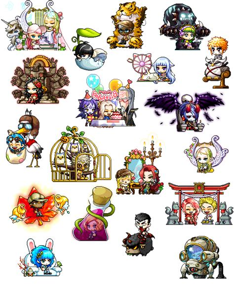 Maplestory Chairs collectable chairs chucklefish forums
