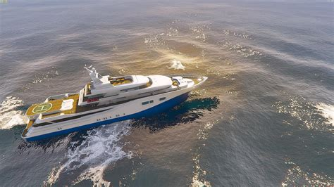 boat online drivable yacht iv add on gta5 mods