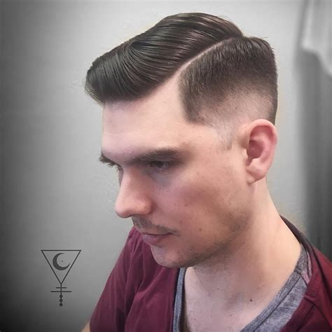 mens haircut with part shaved in side part haircuts